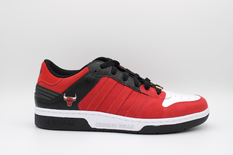 ADIDAS INSTINCT LOW NBA WHT RED BLACK