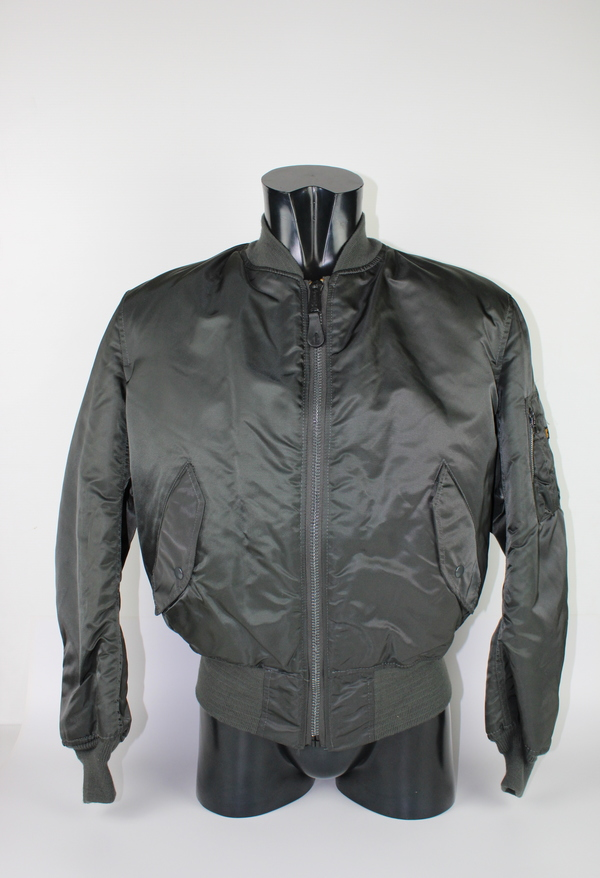 ALPHA BOMBER GREY