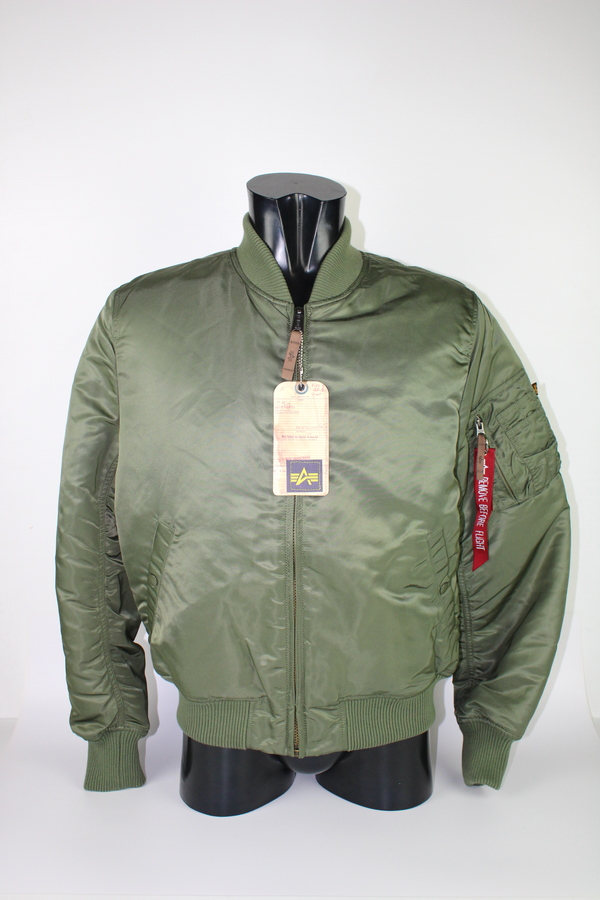 ALPHA BOMBER GREEN