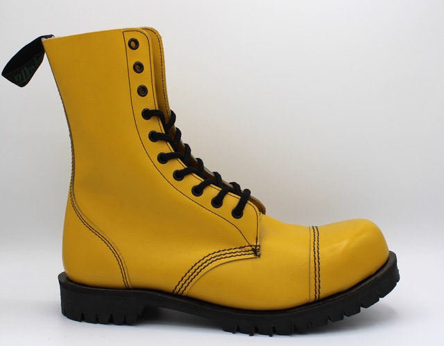 GETTA GRIP 10 EYE BOOT YELLOW