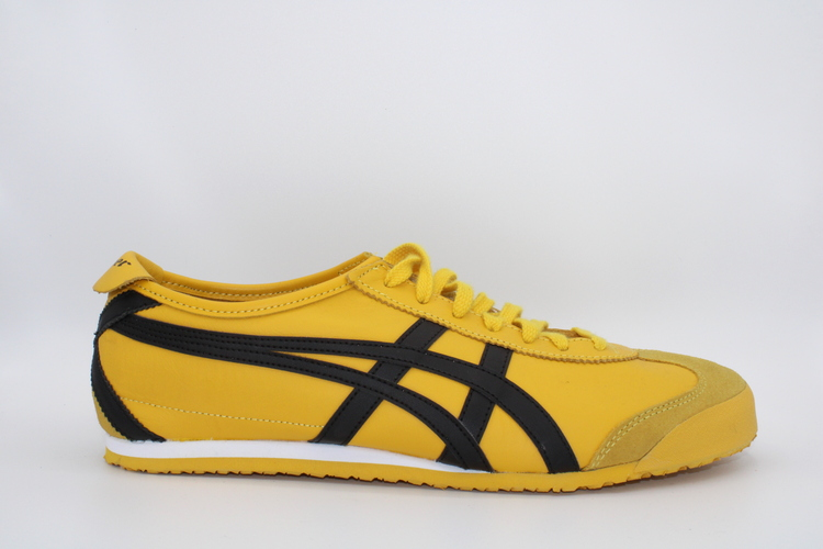 ASICS MEXICO 66 YELLOW BLACK